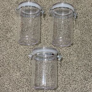 Kitchen - The Container Store Acrylic Canister - price for 1